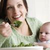 Питание мамы при грудном вскармливании