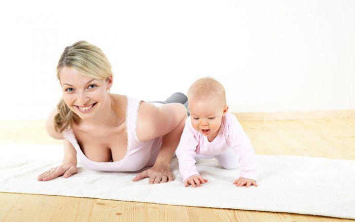 Восстановление после родов. Упражнения
