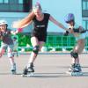 Как научить ребенка кататься на роликах