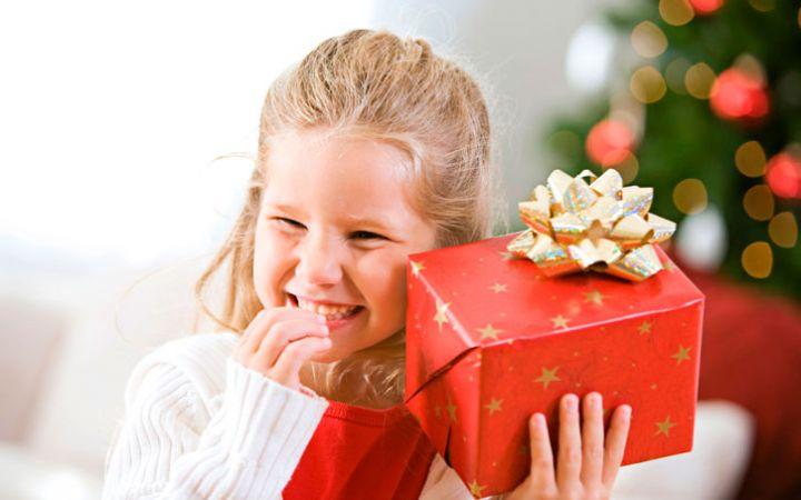 Подарки детям на Новый год 2017