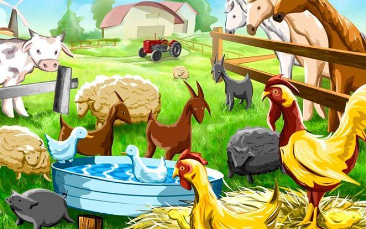 Стихи про домашних животных для детей