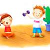 Интересная зарядка для детей