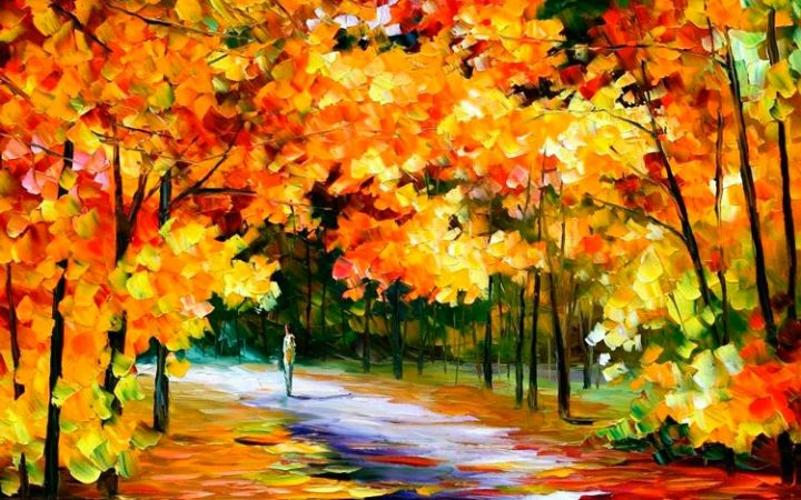 Стихи про октябрь для детей