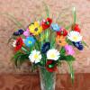 Цветы из подручных материалов своими руками