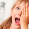 Разминка для глаз для детей