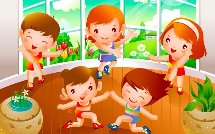 Гимнастика в стихах, для детей