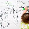 как научить ребенка в 3 года рисовать