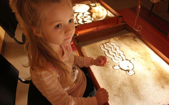 Песочная терапия для детей, занятия
