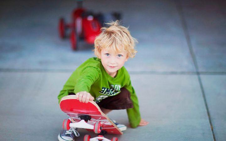 Как выбрать скейтборд ребенку