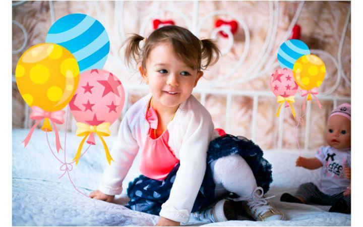 Сценарий день рождения 4 года девочке