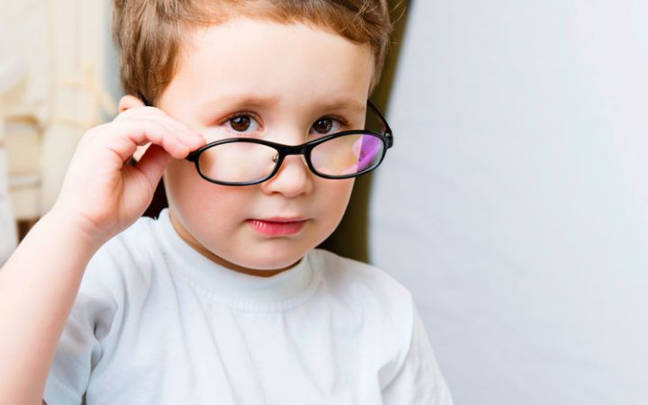Развитие детей с нарушением зрения