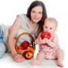 Диета кормящей мамы по месяцам