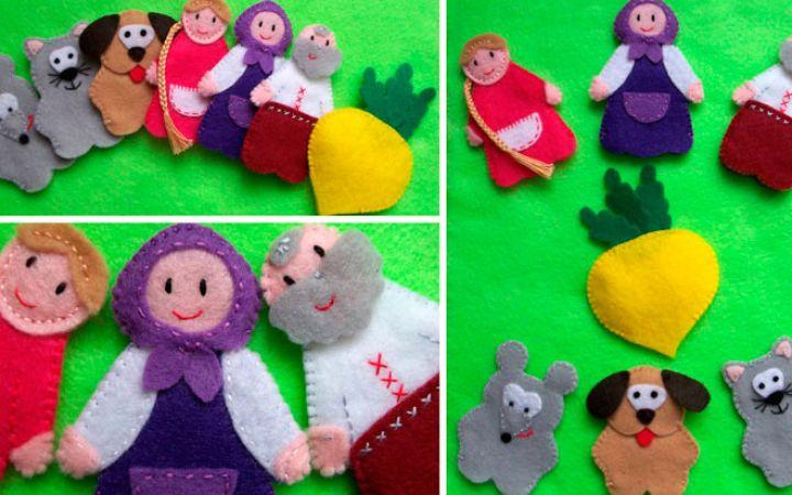 Пальчиковые куклы своими руками