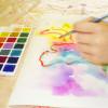 Рисование акварелью, для детей