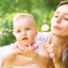 Воспитание детей первого года жизни