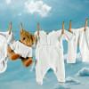 Чем стирать детские вещи новорожденного