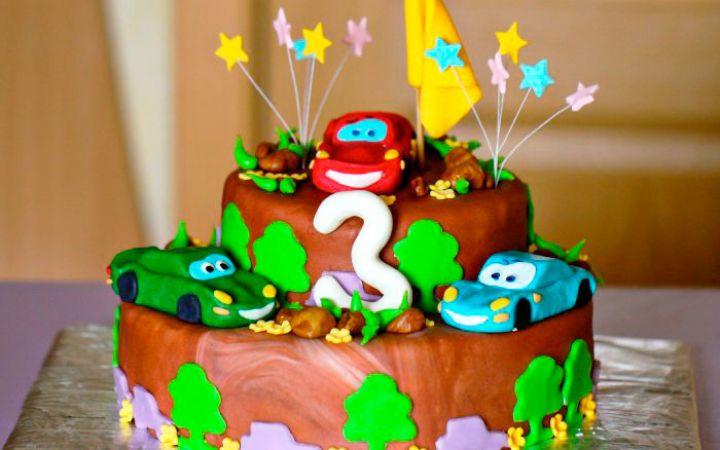 День рождения 3 года мальчику