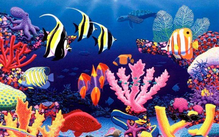 Детям о подводном мире