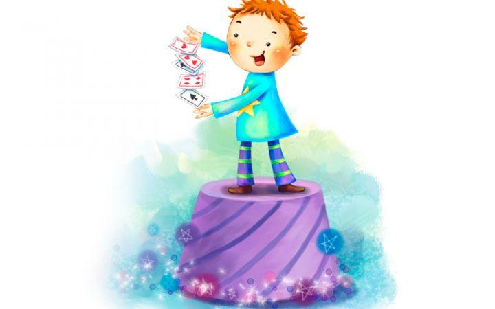 Фокусы с картами для детей
