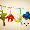Игрушки для новорожденных своими руками