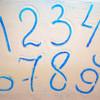 как научить писать ребенка цифры