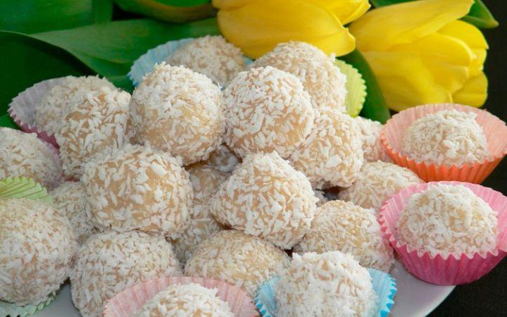 Рецепт кокосовых шариков