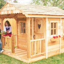 Как сделать домик для детей