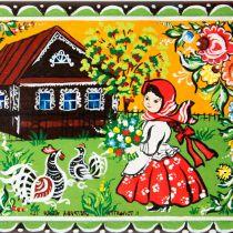 Рисование городецкая роспись