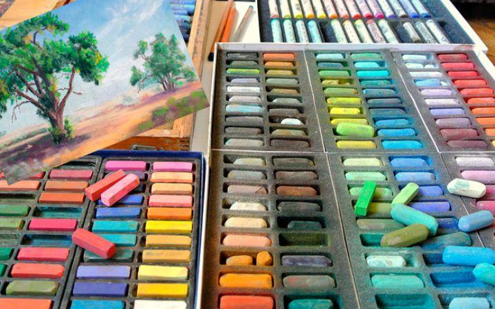 Как рисовать пастелью для начинающих