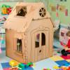Домик из картона для детей своими руками