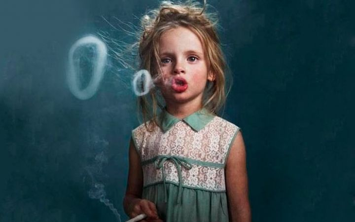 Влияние курения на детей