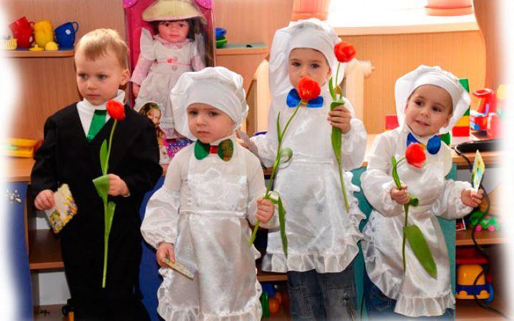 Сценарий 8 марта в детском саду старшая группа