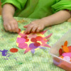 Интересные поделки с детьми 2,3 лет из цветной бумаги