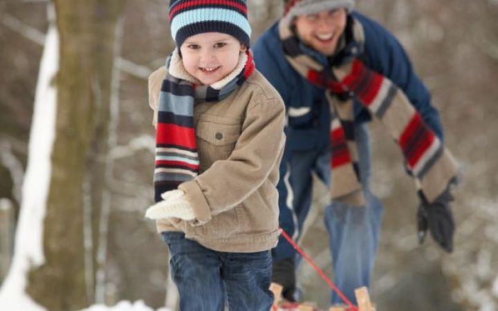 Зимние подвижные игры для детей на улице