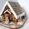 Украшаем новогодний стол — пряничный домик