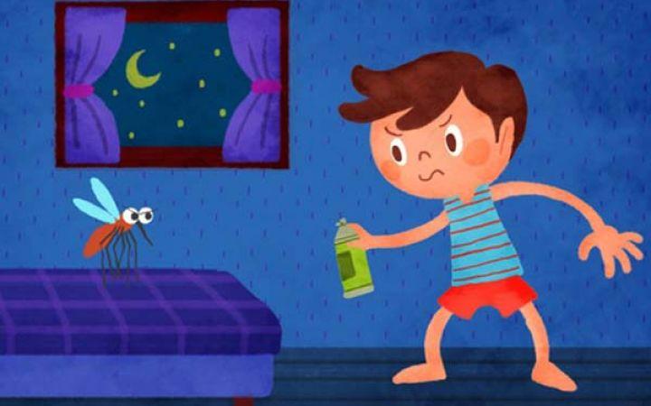 Как защитить ребенка от укусов комаров