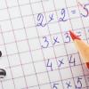 Математика: учимся решать примеры на умножение