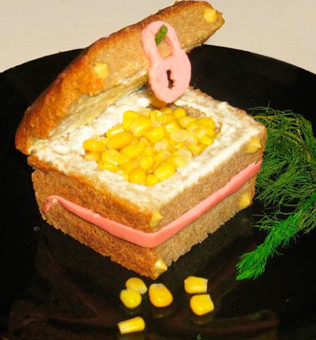 как приготовить легкий салат ребенку