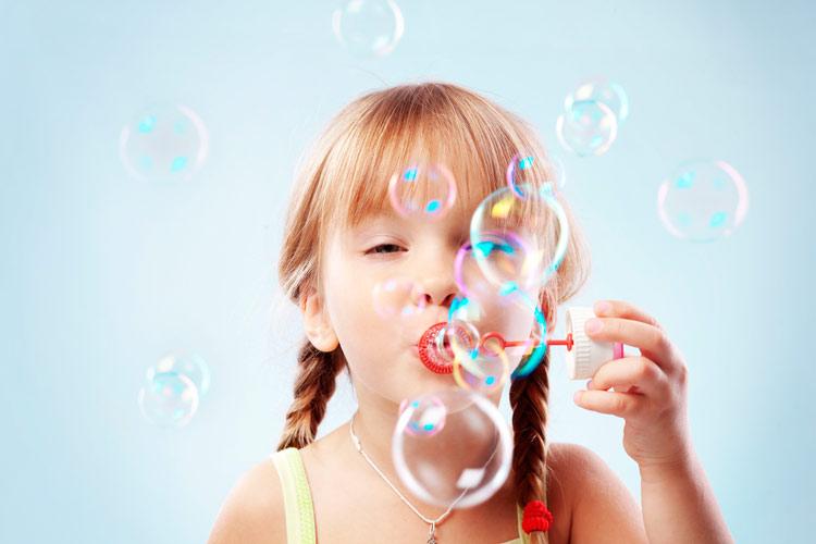 Дыхательная гимнастика мыльные пузыри