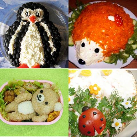 138Салаты рецепты пошагово на день рождения ребенка