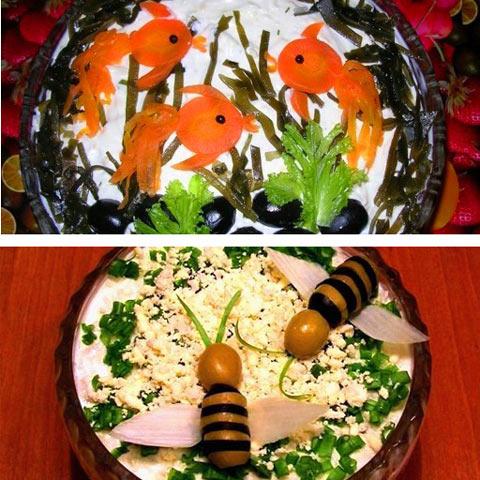 Салат Оливье, рецепты с фото на m: 154