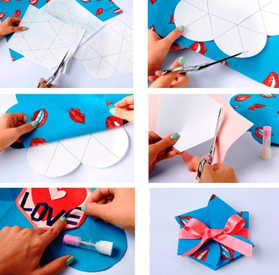 Подарок своими руками девушке из бумаге