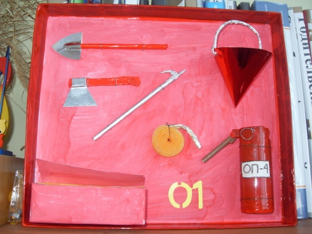Пожарная безопасность поделки для школы своими руками
