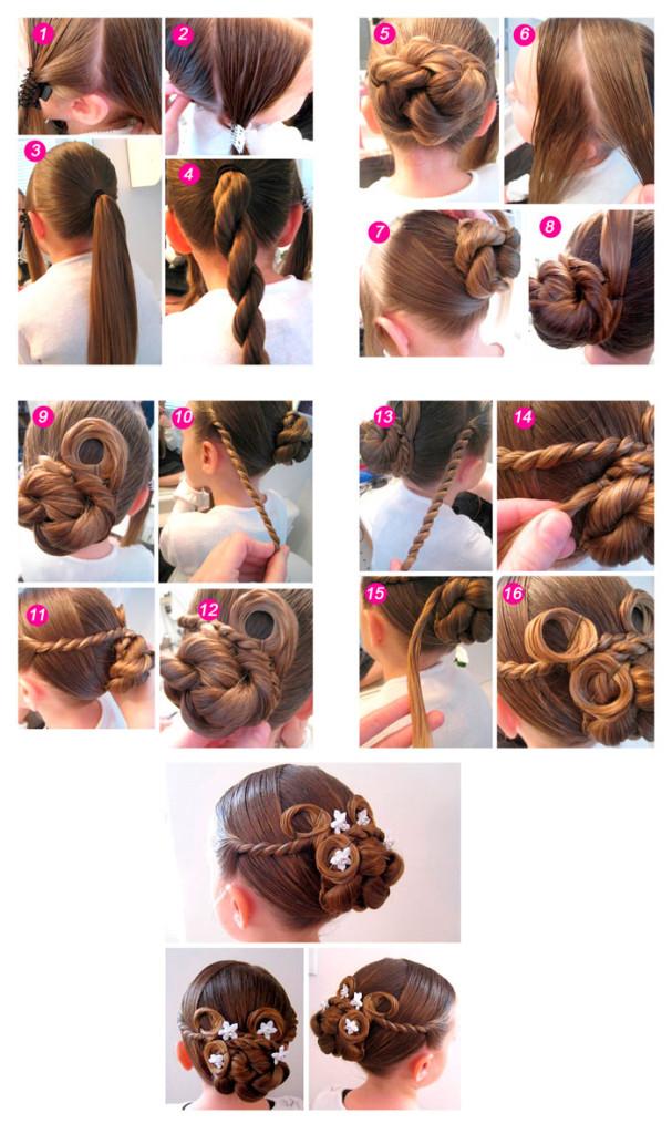 Причёски на 1 сентября для