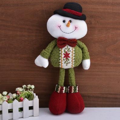 кукла в стиле тильда снеговик