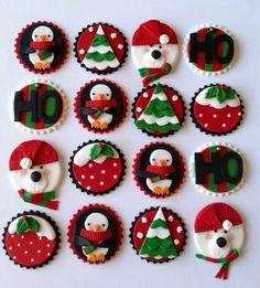рождественские капкейки2