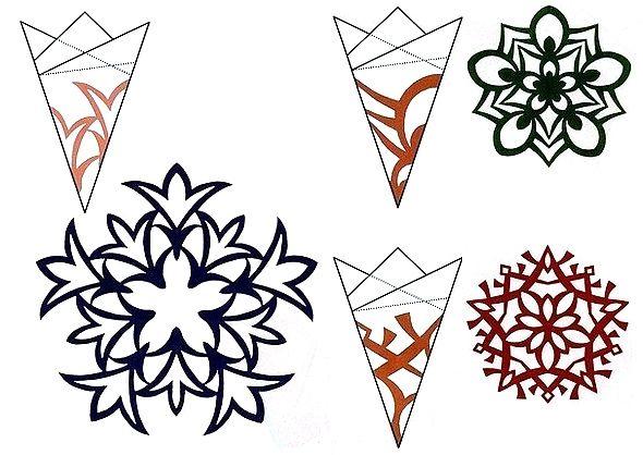 снежинки схемы