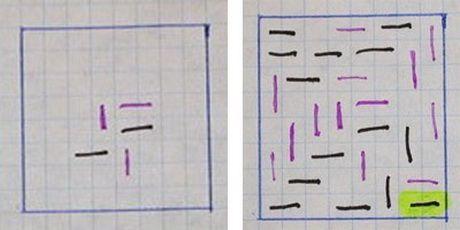 игра на бумаге две клетки