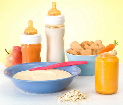 прикорм для детей 5- 6 месяцев
