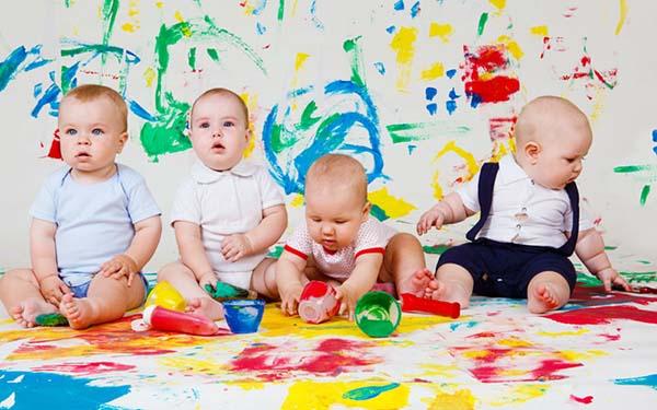 развивающие игры для ребенка 10 месяцев рисование